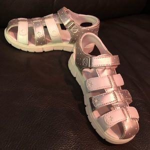 Stride rite girls sandals - worn once